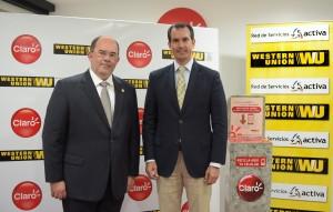 CLARO y Western Union firman convenio