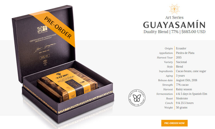 To'ak Chocolate | Luxury Dark Chocolate from Ecuador